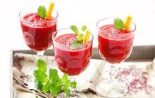 Jarní očista: Fresh z červené řepy, jablek a mrkve