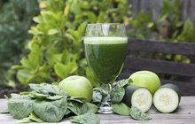 Jarní očista: Smoothie z jablka, špenátu a okurky