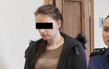 Lenka W. (21) dostala 4 roky: Pacientce (†88) loni píchla vzduch do žíly