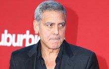 George Clooney: Boural na motorce! Je to vážné?!