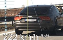 Po dálnici D1 se řítil rychlostí 222 km/h! Nadýchal 1,1 promile...
