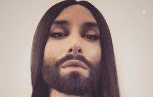 Conchita Wurst má konkuraci: Dvoumetrová ryšavá vousatá modelka!
