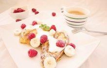 Lahodná snídaně: Malinový toast