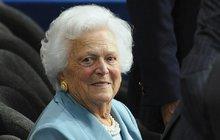 Spojené státy truchlí pro svou nejoblíbenější první dámu posledních desetiletí Barbaru Bush. Manželka prezidenta George Bushe (93) zemřela v noci na včerejšek ve věku 92 let, pohřeb bude v sobotu.
