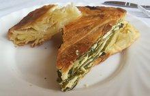 Vaříme s medvědím česnekem: Zelení Lasagne