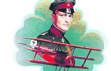 Manfred von Richthofen (†25), známý spíše pod svou přezdívkou Rudý baron, byl nejobávanějším leteckým stíhačem první světové války. Legendárnímu německému pilotu se připisuje 80 sestřelů. Jeho poslední letecký souboj, který ho stál život, se odehrál přesně před sto lety.