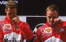 Michael Schumacher a Rubens Barichello bývali parťáky a velmi dobrými kamarády. Není se co divit, že Barichello chtěl Schumachera vidět. Jenže nepochodil…