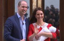 Dojatá Anglie: Takhle William volá svého miláčka