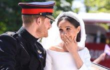 Jedinečný snímek ze svatby Harryho a Meghan! Tahle fotka vyrazí dech i vám!