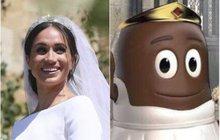 Německá firma na výrobu cukrovinek si zadělala na pořádný průšvih! Jeden ze svých produktů totiž z recese oblékla do svatebních šatů s korunkou a vše zalila čokoládovou polevou. V kontextu s nedávnou svatbou Meghan Markle (36), jejíž maminka je Afroameričanka, jde o skandál jako hrom!