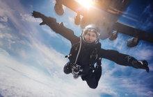 Hazard Toma Cruise: 7 kilometrů volným pádem