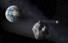 Výbuch asteroidu!