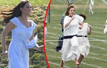 Kate poletuje  jako kdysi Diana