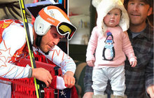 Tragédie světoznámého lyžaře (40): Přišel o malou dcerku