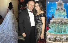 Opravdu luxusní veselku dopřál své dceři Irině (18) ruský stavební magnát Aleksandr Tjigirinský (55). Její svatební ho vyšel na neuvěřitelných 300 milionů. Za co všechno je utratil?