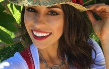 V Česku je Tereza Budková (27) modelka s titulem královny krásy, u sousedů v Rakousku se z ní stala selka.