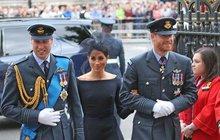 Meghan a Harry v koncích: Zasáhnout musel princ William!