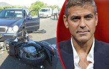 George Clooney mohl být po smrti: Jel stovkou, pak letěl vzduchem!