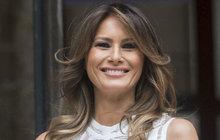 První dáma USA navštívila po boku svého manžela Donalda Trumpa (72) Spojené království. Melania (48) tam strávila dva dny, během nichž mimo jiné zazářila v pruhovaných šatech z dílny Victorie Beckham (44).