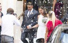 Tenistka Plíšková (26) & její Hrdlička (29): Luxusní svatba v Monaku