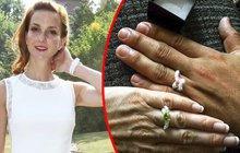 Těhotná Maurerová se pochlubila zásnubními prstýnky: Bude svatba č. 2?