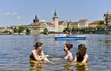 Česko zažije teplotní skok: Ve čtvrtek 38 °C, v pátek 23 °C