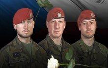Pohřbí vojáky z Afghánistánu