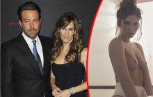 Herec Ben Affleck vyměnil přítelkyni:  Sbalil modelku  z Playboye!