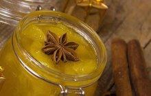 POTŘEBUJETE:1 kg očištěných kdoulí250 ml vody400 g očištěných jablek1 balíček kyseliny citronové500 g sacharinu