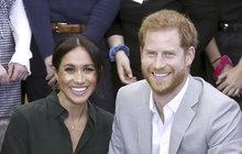 Princ Harry potvrdil roztomilou novinku! Meghan Markle přiznala potíže kvůli jménu