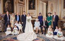Vyladěné k dokonalosti. Tak by se daly charakterizovat oficiální fotografie ze svatby princezny Eugenie z Yorku (28) s Jackem Brooksbankem (32), které včera zveřejnil Kensingtonský palác.