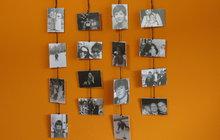 Efektní fotodekorace podle blogerky Pavly zútulní interiér...