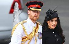Princ Harry a jeho Meghan: Drama v oblacích! Hrozil střet letadel!