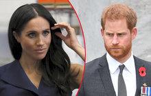 Dusno mezi Harrym a Meghan graduje: ROZVOD?!