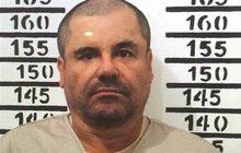 Drogový boss »El Chapo« prosí: Nechte mě  políbit ženu