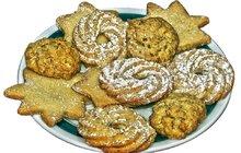 Vánoční pečení:Máslové sušenky