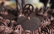Vánoční pečení: Čokoládová srdíčka