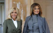 VIP diety prvních dam: Tak hubne Macronová s Trumpovou