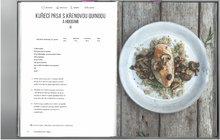 Kuře trochu netradičně: Prsa s křenovou quinoou a houbami