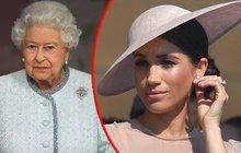Královna Alžběta II. důrazně zavelela: Meghan nesmí nosit šperky po Dianě!