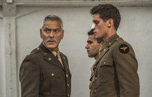 Hollywoodský veterán a miláček žen George Clooney (57) se v nové roli objeví s radikálně jinou vizáží! V šestidílné sérii od online televize Hulu, představuje amerického vojáka z druhé světové války. A že se na to pořádně připravil!