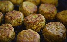 Pikantní jídla v zimě zahřejí: Cizrnový falafel