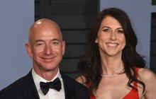 Rozvod nejbohatšího muže světa Jeffa Bezose: Dělit se bude o 3,6 bilionu Kč
