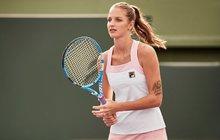 Módní smeče na Australian Open: Kájo, ty jsi cukrátko!