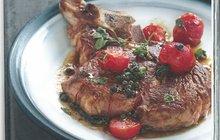 I jídlo je vášeň: Hovězí steak s pepřem a rajčaty