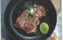 I jídlo je vášeň: Česnekové steaky s bylinkovo-limetovým máslem