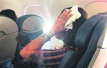 Děsivé turbulence při letu Delta 5763: Dvakrát padali po čumáku!