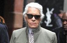 Karl Lagerfeld (†85): Popel smíchají s  ostatky jeho lásky!