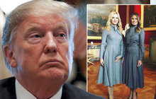 Monika Babišová a macho Trump: Melanie ve střehu?