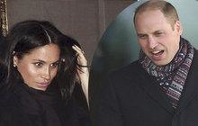 Princ William vytočený do běla: Proč to Meghan udělala?